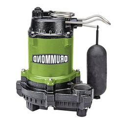 1/3 HP Submersible Sump-Effluent Pump with Vertical Float Sw