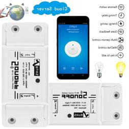1 5 10 PACK Sonoff ITEAD WiFi Wireless Smart Switch Remote C