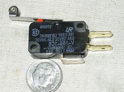 1 OMRON SPDT V1661C6 ROLLER LEVER SNAP MICRO LIMIT SWITCH 16