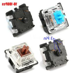 10/30/60/100Pcs 3 Pin USB Mechanical Switch Replacement for