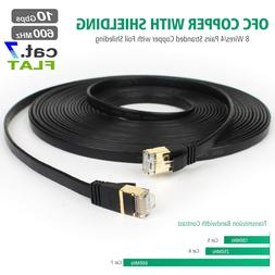 10Gbps Ethernet Cable, 25FT Cat 7 Network Speed 600Mhz/s STP