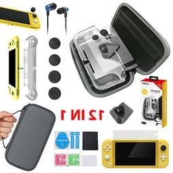 12 in 1 Accessories Kit w/Carrying Bag Pouch Case Shell for
