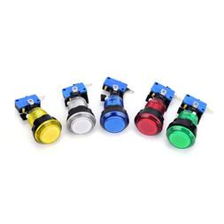 1pc round lit illuminated arcade video game button switch LE