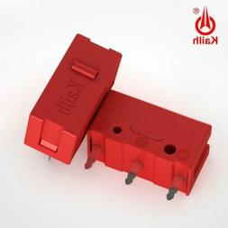 2 PACK Kailh GM Red Micro Switch for Gaming Mouse Button - 6