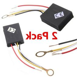 2pcs 3Way Touch Sensor Switch Control for Repairing Lamp Des