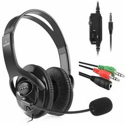 3.5mm Gaming Headset Headphone For PS4/PS4 Pro/Xbox One X/Ni