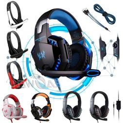 3.5mm Gaming Headset Mic Headphones Stereo Surround for Nint