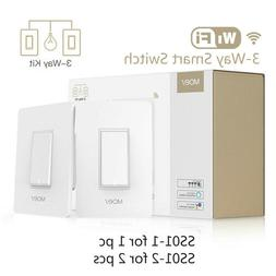 3 Way WiFi Smart Light Switch APP remote control works with