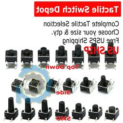 30+ SMD Verical Tactile Mini Micro Momentary Push Button Swi
