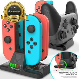 4in1 Nintendo Switch Pro Joy Con Joycon Controller Charger C