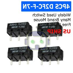 4PCS Micro Switch Microswitch for OMRON D2FC-F-7N Mouse D2F-