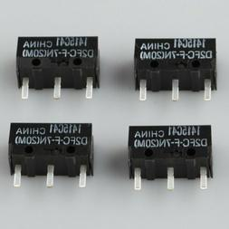 4pcs NEW OMRON Micro Switch D2FC-F-7N For Gamers Usage Mouse
