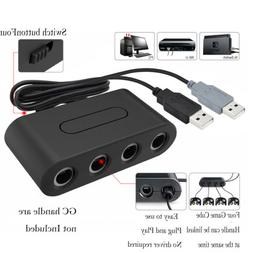 4Port GC Handle Game Cube Controller To USB Adapter Converte