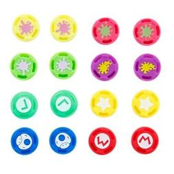 4x Silicone Joystick Thumbstick Cover Controller Caps Grips