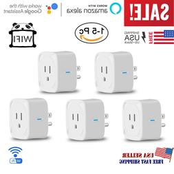 WiFi Smart Outlet Plug Socket Power Adapter Switch work With