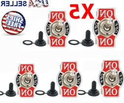 5X Toggle SWITCH ON/OFF/ON Heavy Duty 20A 125V SPDT 3 Termin