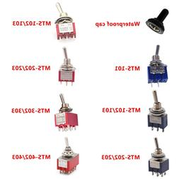 6A 120VAC mini 2 Position ON ON MTS-102 MTS-202 Toggle <font