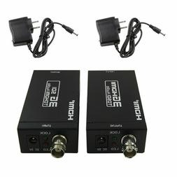 HDMI Extender Over Single Coaxial Cables 1080P, HDMI-SDI + S
