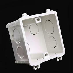 86-Type PVC Junction Box Wall Mount Cassette For New Switch