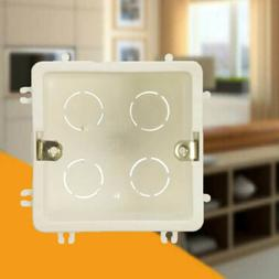 86 Type PVC Junction Box Wall Mount Cassette For Wall Switch