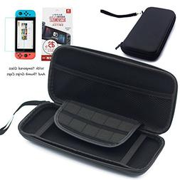 BRHE Portable Travel Carry Case Compatible with Nintendo Swi