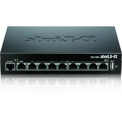 D-Link 8-Port Gigabit VPN Router with Dynamic Web Content Fi