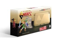 Nintendo 3DS XL Gold/Black - Limited Edition Bundle with The