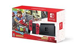 Nintendo - Switch Super Mario Odyssey Edition Bundle - Red J