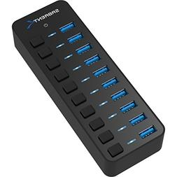 Sabrent 10-Port 60W USB 3.0 Hub with Individual Power Switch