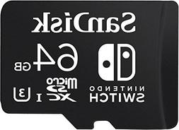 SanDisk 64GB microSDXC UHS-I card for Nintendo Switch - SDS