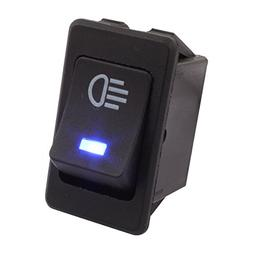 TOMALL Replacement LED Fog Light Toggle Switch DC 12V 35A ON
