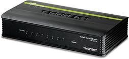 TRENDnet 8-Port Unmanaged 10/100 Mbps GREENnet Ethernet Desk