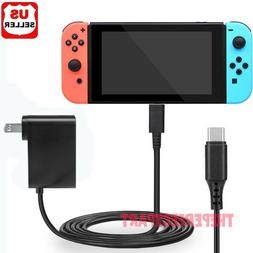 For Nintendo Switch AC Power Supply Adapter Home Wall Travel