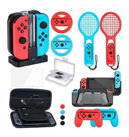 Zadii Accessories Bundle Compatible with Nintendo Switch, Ac
