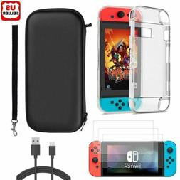 Accessories Case Bag+Shell Cover+Charging Cable+Protector fo