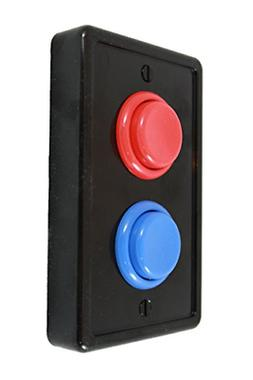 Arcade Light Switch Plate Cover, Single Switch , 1-Gang Stan