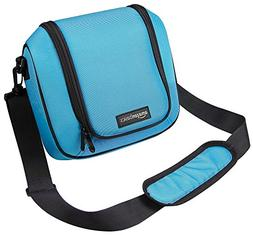 AmazonBasics Travel Bag for New Nintendo 2DS XL - Turquoise