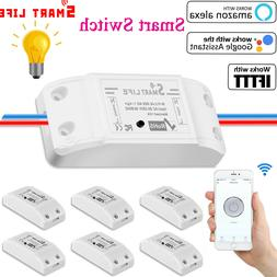 Basic Smart Home WiFi Wireless Light Switch DIY Module Monit