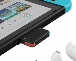 Genki Bluetooth Audio Adapter for The Nintendo Switch Neon B
