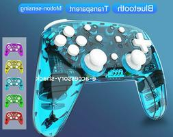 Bluetooth Wireless Pro Controller Rechargeable Gamepad For N