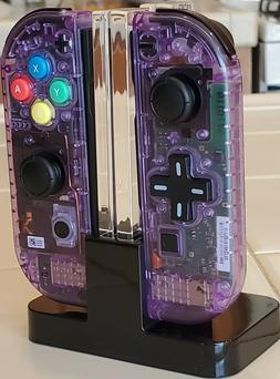 Brand New Custom Atomic Purple Nintendo Switch Joy Con Contr