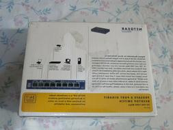 ~Brand New~ NETGEAR ProSafe GS108 8-port Gigabit Desktop Swi