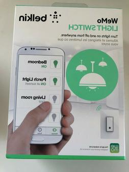 Brand New Belkin WeMo F7C030Ffc Smart Light Switch