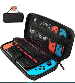 Carrying Case for Nintendo Switch and Accessories - Black  ,