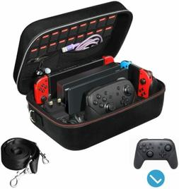 Carrying Storage Case for Nintendo Switch Console Pro Contro