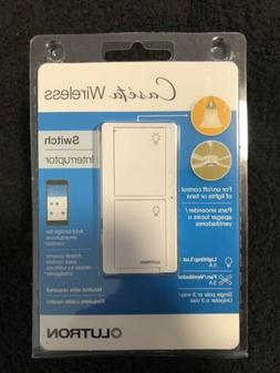 Lutron Caseta Wireless In-Wall Light/Fan Switch –PD-5ANS-W