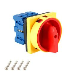 Changeover Switch 2 Position Rotary Selector Cam Switch Pane