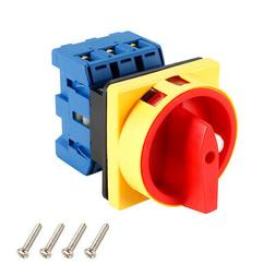 Changeover Switch 2 Position Rotary Selector Cam Switch 6 Te