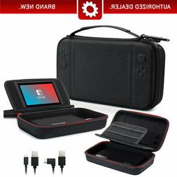 Nintendo Switch Carrying Charger Case with Stand +10000mAh R