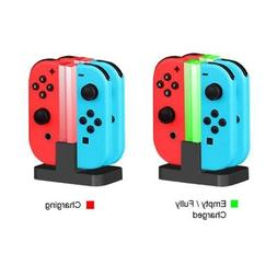 Charging Dock Dual Charger Switch Joy-Con Pro Wireless Contr